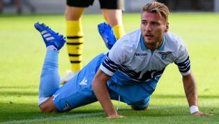 """Eintracht Frankfurts nächster Europa-League-Gegner Lazio Rom verliert ein wildes Derby mit 1:3 gegen den AS Rom. Obwohl die """"Biancoceleste"""" nach zuletzt vier..."""
