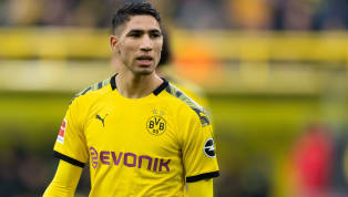 ​Achraf Hakimi's agent has denied reports the on-loan ​Borussia Dortmund full-back's ​Real Madrid contract has been extended until 2023. The Morocco...