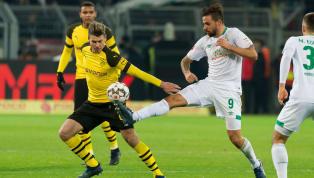 Im Achtelfinale des DFB-Pokals kommt es am Dienstagabend zu einem richtigen Klassiker.Borussia Dortmundempfängt den sechsfachen DFB-Pokal-SiegerWerder...