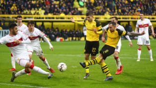 Tilt Borussia Dortmund have dropped behind Bayern Munich in the Bundesliga table on goal difference despite securing a 3-1 win over VfB Stuttgart in the two...