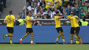 itle Borussia Dortmund beat BorussiaMönchengladbach at Borussia-Park on Saturday afternoon, but missed out on the Bundesliga title. The away side needed to...