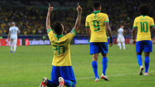 """Brasilien hat im """"Superclasico""""-Duell gegen Erzrivale Argentinien das Finale der Heim-Copa-America erreicht. Dank Treffer von Jesus und Firmino setzte sich..."""
