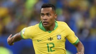Alex Sandro, terzino sinistro dellaJuventuse del Brasile, festeggia la vittoria in Copa America con il club brasiliano. Il terzino sinistro ha parlatoin...