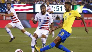 ब्राज़ील ने शनिवार सुबहन्यू जर्सी के मेटलाइफ स्टेडियम में हुए फ्रेंडली मैच में नेमार और रॉबर्टो फर्मिनो के गोल्स की मदद से अमेरिकाको 2-0 से शिकस्त दी थी।...