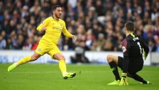 Eden Hazard Alami Cedera Ringan dalam Kemenangan Chelsea Atas Brighton
