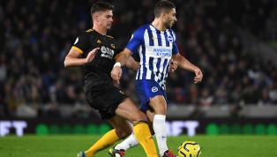 aldı İngiltere Premier Lig'in 16. hafta randevusunda Brighton & Hove Albion, kendi evinde Wolverhampton Wanderers ile 2-2 berabere kaldı. Ev sahibin...