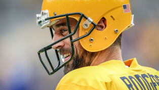 GOATs still laugh, in case you were wondering. A bunch of Green Bay Packers fans found a way to make franchise quarterback Aaron Rodgers laugh during...