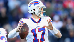 If there is anyone alive that can throw a football farther than Uncle Rico from Napoleon Dynamite, it might just be Josh Allen. I'd make a bet that the...
