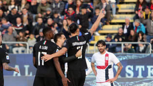 Zlatan Ibrahimovic opened his Milan account for the second time in his side's 2-0 victory over Cagliari, following the Swedish striker's return to the...