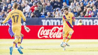 El Barcelona seguirá líder una jornada más. Ayer los de Valverde se impusieron con mucho sufrimiento a un Leganés que le puso las cosas difíciles desde el...