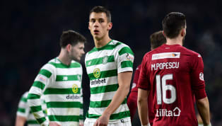 ​Brendan Rodgers has not given anything away regarding the future of Leicester City centre-back Filip Benkovic, as his loan spell at Celtic draws to a close....