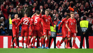 ndon Bayern Munich already have one foot in the Champions League quarter-finals thanks to their impressive 3-0 win over a 10-manChelsea, where ex-Arsenal...