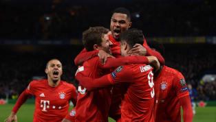 Satu kaki Bayern Munchen sudah di delapan besar Liga Champions. Die Roten mencetak tiga gol tandang tanpa balas (3-0) kala melawan Chelsea di Stamford Bridge...