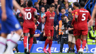 idge Liverpool made it 15 straight league wins, as first-half strikes from Trent Alexander-Arnold and Roberto Firmino held off an N'Golo Kante second-half...