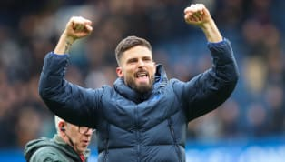 ​Chelsea striker Olivier Giroud was handed a rare start in the weekend's 2-1 win over Tottenham Hotspur, and he rewarded Frank Lampard's faith by netting the...