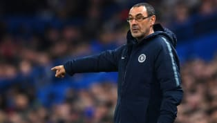 """Chelseaboss, Maurizio Sarri, admits that his siderisk a """"disaster"""" againstManchester Cityin Sunday's Carabao Cup final if they start as anxiously as they..."""