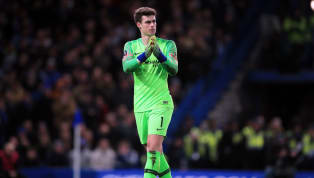 Kepa Arrizabalaga. He's the man whose name – rolled out with all the Spanish inflections you could ever wish for – you'd love to touch. But you can't touch!...