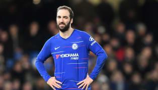 Tiền đạo Gonzalo Higuain sẽ phải trở về Juventus sau khi mùa bóng hiện tại kết thúc do phong độ không đáp ứng được yêu cầu của Chelsea. Xác định cái tên đầu...