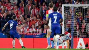Chỉ trong vòng chưa đầy nửa tiếng của hiệp một, Chelsea đã ghi một mạch bốn bàn vào lưới của Slavia Praha. Bàn thắng đầu tiên là một siêu phẩm phối hợp đẹp...