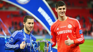 Real Madrid goalkeeper Thibaut Courtois has urged his side to sign Chelsea star Eden Hazard when they decide to next delve into the transfer market, instead...