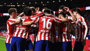 Elconjunto rojiblancose ha impuesto a los pamplonenses en un partido que ha costado desatascar. Un gol de Morata de cabeza y otro de Saúl con una...