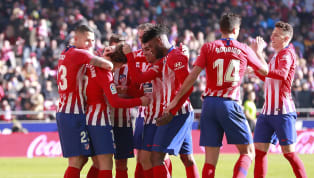 Atlético: Adán; Godín, Giménez, Arias, Juanfran; Thomas, Saúl, Lemar, Koke; Correa, Kalinic  | ALINEACIÓN 1⃣1⃣ ¡El ONCE de hoy! ⚪ ¡A por los cuartos de...