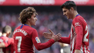 On-loan Atletico Madridstriker Alvaro Morata claims teammate Antoine Griezmann is happy at the club, amid renewedreports of a summer departure. Spanish...