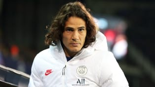 """Paris Saint-Germain manager Thomas Tuchel has revealed that rumoured Atletico Madrid and Manchester UnitedtargetEdinson Cavani is currently not """"completely..."""