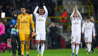 Real Madrid had already booked their spot in the next round of the Champions League, and last night saw them pick up another routine win against Club Brugge....