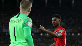 PenyerangManchester United,Marcus Rashford mengatakan kalau gelaran Piala Dunia 2018 lalu merupakan momen terbesarnya bersama timnas Inggris. Terutama pada...