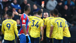 It was all going so well for Arsenal at Selhurst Park. Pierre-Emerick Aubameyang, Alexandre Lacazette and Mesut Ozil combined sublimely to give them an early...