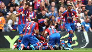 nner Crystal Palace got their first home goal and first home win of the season courtesy of Jordan Ayew's 72nd minute strike against ten-men Aston Villa, who...