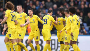 gles Chelsea edged their way past a stubborn Crystal Palace side in the Premier League on Sunday, with N'Golo Kanté's second half goal earning his side the...