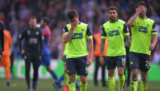 ​It had looked inevitable for quite some time but after their 2-0 defeat to Crystal Palace at Selhurst Park on Saturday afternoon, Huddersfield's relegation...