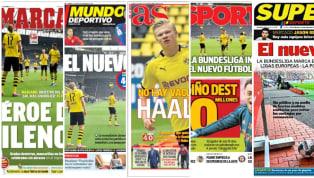 El retorno de la liga alemana ha despertado un gran interés mediático al ser la primera de las cinco grandes ligas europeas que ha retomado la competición....