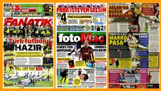 Bayram sonrası gazete manşetlerine dönüyoruz. Bugünün gazetelerinde yine ağırlıklı olarak transfer dedikoduları ile 12 Haziran'da başlayacak Süper Lig'e...