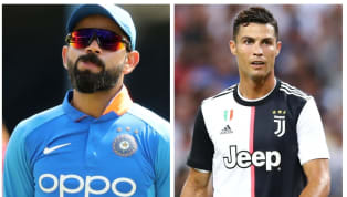 Indian cricket team's captain Virat Kohli has revealed in his recent chat with Indian football team captain Sunil Chhetri that he is in awe of Juventus hitman...
