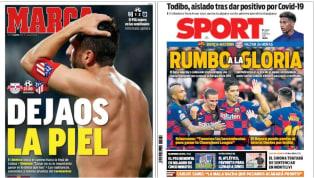 Los envites de cuartos de final de los dos equipos españoles que siguen vivos en Liga de Campeones son protagonistas en primera plana. El tercero de LaLiga se...