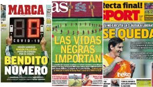 El primer martes de junio da comienzo con varias informaciones destacables en los medios deportivos de prensa escrita en España. El primer es el del primer...