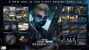Black Ops Cold War and Warzone Season 3 roadmap was announced April 19 featuring major updates to the title. Headlining the release is the return of Black Ops...