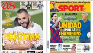 En la zona alta queda por decidir quién será el máximo goleador de la temporada: Lionel Messi (23) o Karim Benzema (21). El francés no lo ha logrado nunca,...