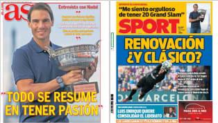 Estas son las portadas del 13 de octubre de 2020, en la víspera de partido de la Nations League entre España y Ucrania: 1. MARCA- Haaland si no viene Mbappé...