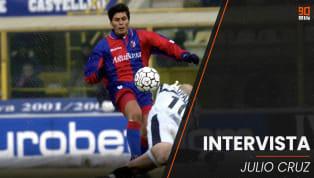 Julio Ricardo Cruz ovvero El Jardinero del gol. L'ex centravanti argentino ha vestito maglie importanti ed è approdato in Italia nel 2000, grazie al Bologna....