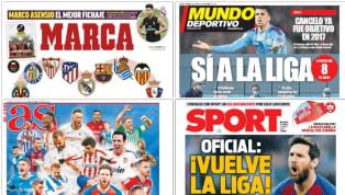 La principal noticia del día llegó con las palabras de Pedro Sánchez, que autorizó el retorno del deporte profesional a partir del 8 de junio. Tal y como se...