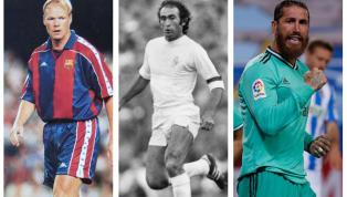 Hãy cùng 90min điểm qua top 5 hậu vệ ghi bàn nhiều nhất trong lịch sử La Liga, thống kê này góp phần vinh danh Sergio Ramos. 5. Roberto Carlos (46 bàn)...