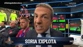 Cristobal Soria siempre suele dar un gran espectáculo cuando el Real Madrid está envuelto en polémicas. Y hoy lo ha estado en 2 de los 3 goles que ha marcado....