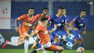 Igor Angulo scored two in the second-half to cancel out the goals scored by Cleiton Silva and Juanan as FC Goa came back from two goals down to earn a point...
