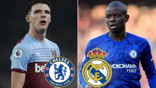 Chelsea đang nhắm đến tiền vệ Declan Rice, một tài năng trẻ của West Ham để thay thế N'Golo Kante. Chuyển đến Chelsea từ Leicester City vào năm 2016, N'Golo...