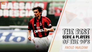 Five European Cups, seven Scudetti, one Coppa Italia, two gorgeous green eyes - Paolo Maldini has it all. Renowned for his composure, class, ability on the...