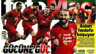 Beşiktaş'ın Gençlerbirliği karşısında elde ettiği 3-0'lık galibiyet gazetelerde ağırlıklı olarak yer bulmuş durumda. Salı gününün öne çıkan haber başlıkları...